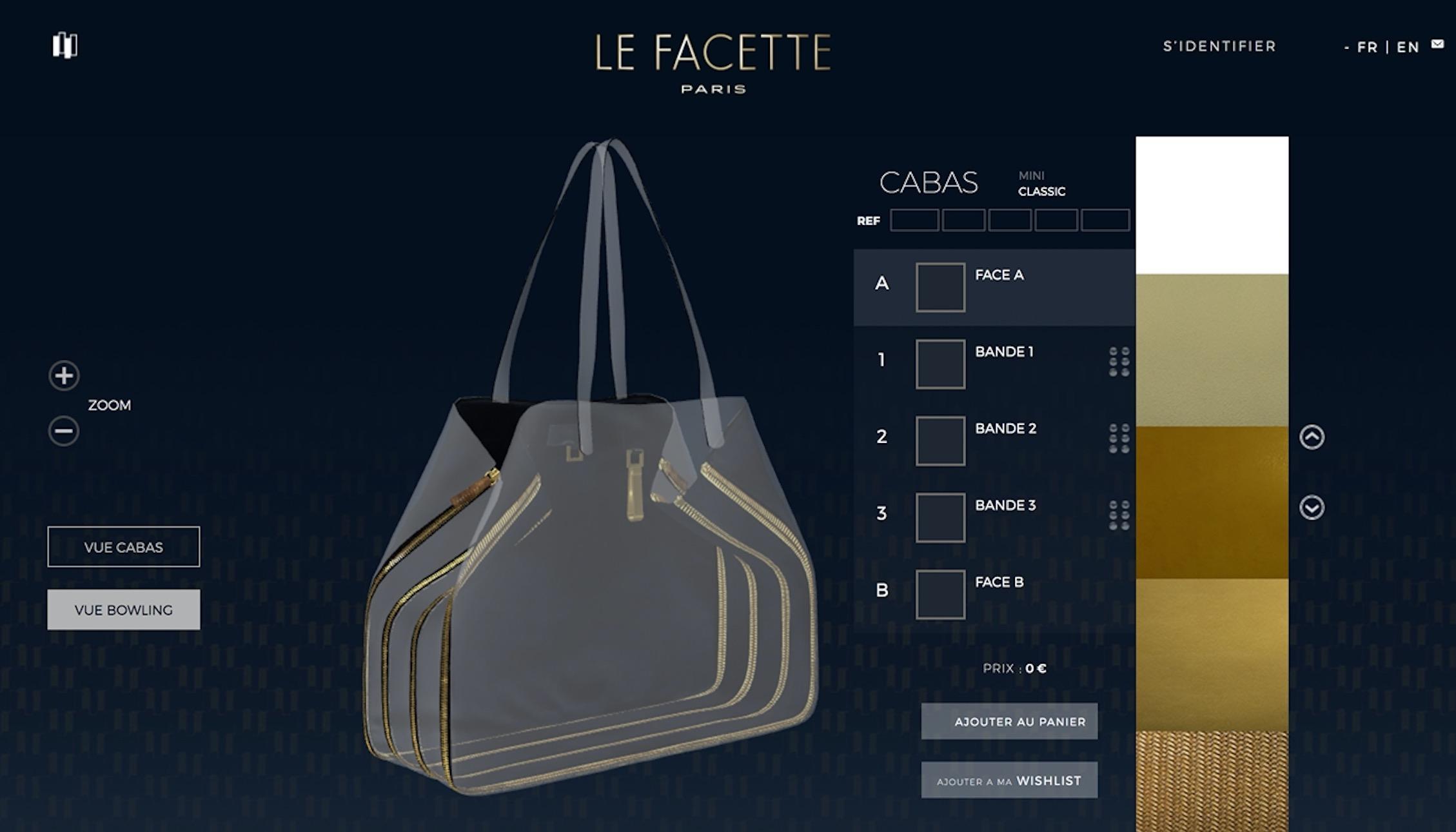 configurateur 3D LeFacette